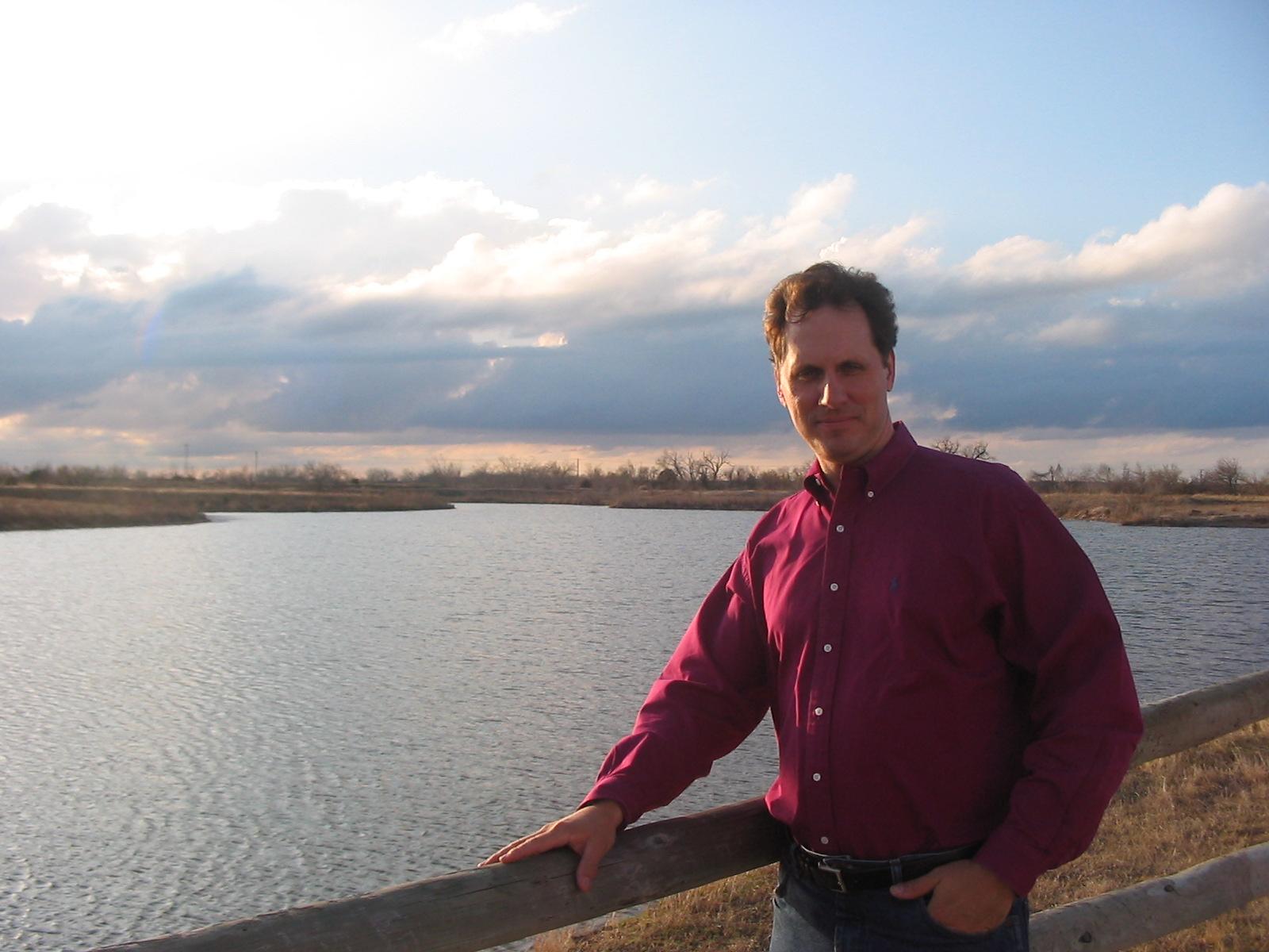 Jim on the Platte
