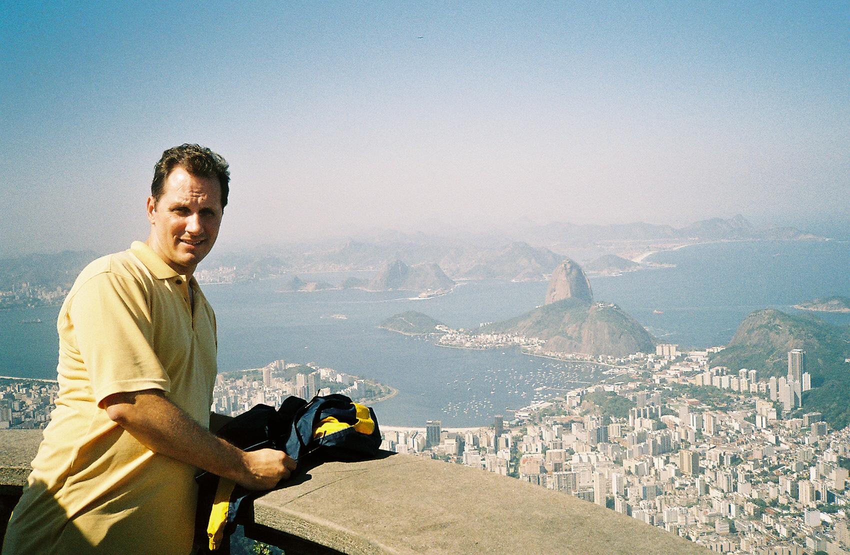 Jim in Brazil