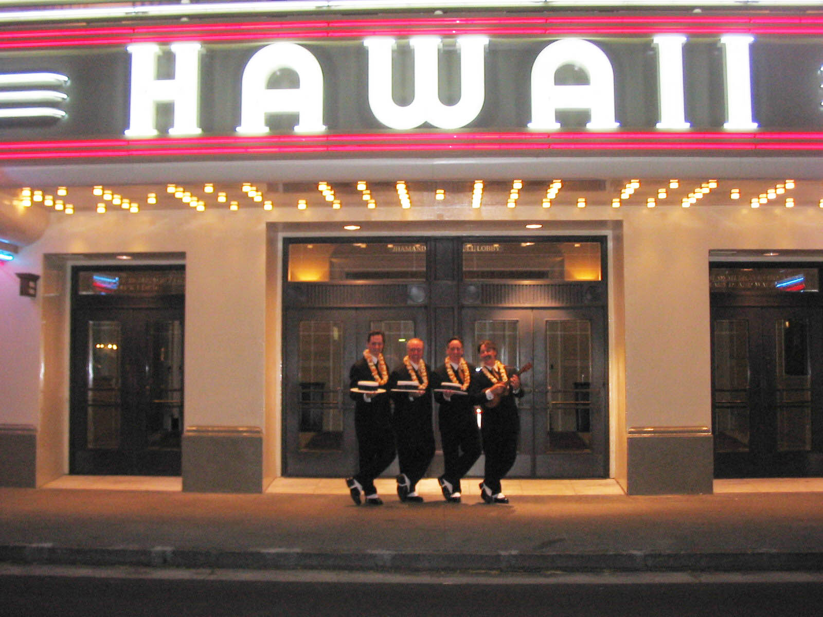 Performing in Honolulu