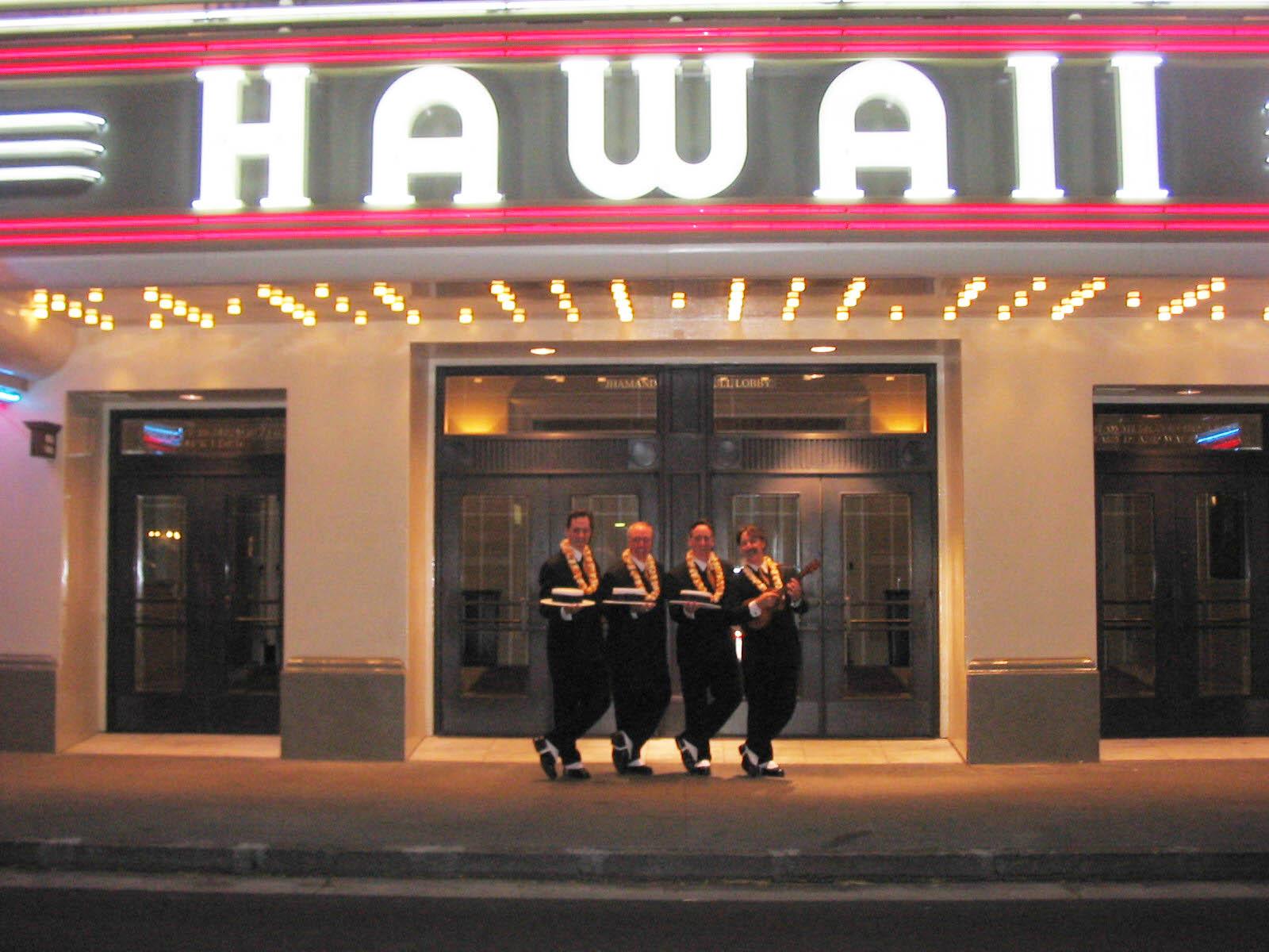 Performing in Honolulu